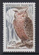 TIMBRE NEUF DE FRANCE - GRAND-DUC N° Y&T 1694 - Owls