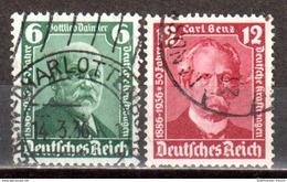 Deutsches Reich 1936 Mi. 604-605 Gestempelt (pü2910) - Allemagne