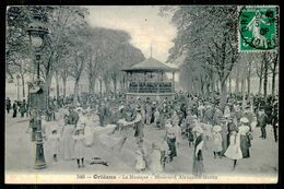 FRANCE - ORLÉANS - La Musique- Boulevard Alexandre-Martin.( Ed. Th.G Nº 548) Carte Postale - Musique Et Musiciens