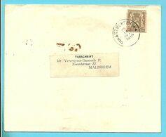 TYPE 420 DECOUPE ENTIER (uit Entier Uitgeknipt) Op Brief Stempel ANTWERPEN - 1935-1949 Small Seal Of The State