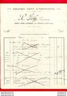 FACTURE (D069) GRANDS CRUS D'ARMAGNAC L. JOLY SAINT-JEAN-D'ARECH Près De Castelnau-d'Auzan (Gers) - 1900 – 1949