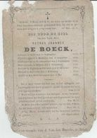BP De Boeck Petrus Joannes (Aalst 1797 - Beervelde 1862), Pastoor Van Beervelde - Alte Papiere