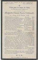 BP Debbaudt Auguste Desire Marie (Sinaai 1829 - Belsele 1904), Kanunnik - Alte Papiere