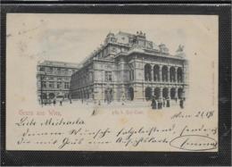 AK 0545  Gruss Aus Wien - K. K. Hof-Oper  / Verlag Stengel & Co Um 1898 - Wien Mitte