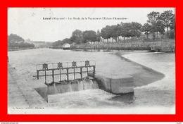 CPA (53) LAVAL.  Les Bords De La Mayenne Et L'écluse D'Avesnières...S2452 - Laval