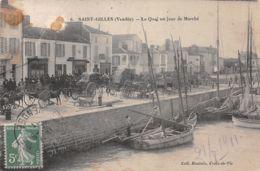 85-SAINT GILLES -N°2136-C/0059 - Saint Gilles Croix De Vie