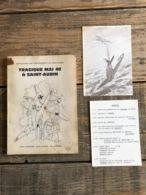 TRAGIQUE MAI 40 à SAINT AUBIN Régionalisme Florennes Guerre 40 45 Bombardement Exode Prisonniers Résistant CARTE POSTALE - Guerra 1939-45