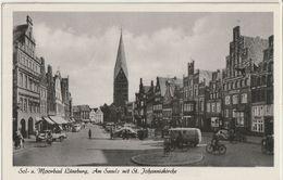 AK Lüneburg, Am Sande Mit Johanniskirche 1960 - Lüneburg