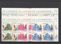 Luxemburg 1969 - Michel 798-803 MNH ** In Block Of 4 - Nuevos