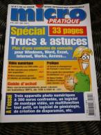 MICRO PRATIQUE N°95 / 08-2004 - Boeken, Tijdschriften, Stripverhalen