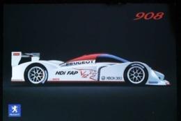 2006 -Mondial De L'auto Présentation Peugeot 908 HDI FAP (Vainqueur Aux 24 Heures Du Mans 2009 1re, 2e Et 6e Places) - Le Mans