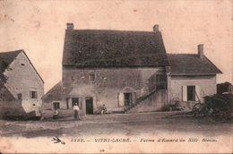 CPA. VITRY-LACHE ( Nievre ). Ferme D'Essard. Animée. Rare. - Nevers