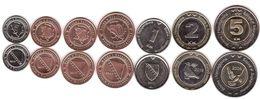 Bosnia - Set 7 Coins 5 10 20 50 Feninga 1 2 5 KM 2009 / 2019 UNC Lemberg-Zp - Bosnia And Herzegovina