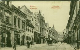ROMANIA - Brașov / BRASSO / KRONSTADT - KAPU-UTCA / PURZEN GASSE - MAILED 1908  ( BG9749) - Rumänien