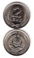 Albania - 2 Leke 1989 UNC Lemberg-Zp - Albania