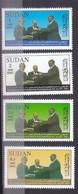 Stamps SUDAN 2008 SC 607 610 PEACE AGREEMENT W SOUTH SUDAN MNH SET Cv$17 # 34 - Soedan (1954-...)