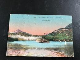 1067 - LAC D'ANNECY TALLOIRES Le Parmelan (bateau à Vapeur) - Annecy