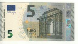 """5 EURO  """"Spain""""   DRAGHI    V 012 C6    VB8372245348    /  FDS - UNC - 5 Euro"""