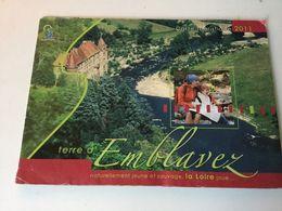 EMBLAVEZ  . La Loire - Folletos Turísticos