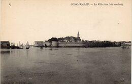 CONCARNEAU - La Ville Close, Côté Nord-est - Concarneau
