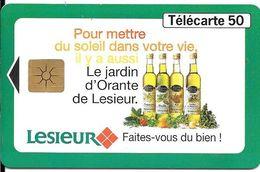 CARTE-PUCE-PRIVEE-PUBLIC- 50U-EN1476-GEMB-08/96-LESIEUR Les Jardins D Orante-Utilisé-TBE-RARE - 50 Units