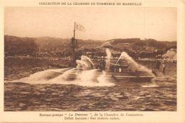 13-MARSEILLE-BATEAU POMPE-N°2151-D/0105 - Marseille