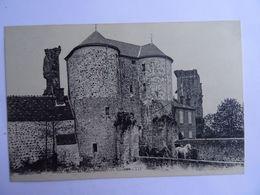 CPA 60 MONTEPILLOY Ruines Du Chateau Animée  Attelage Chevaux TBE - Unclassified