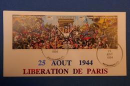 177 MADAGASCAR LETTRE 1994 IER JOUR LIBERATION DE PARIS - Madagascar (1960-...)