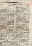 Journal Des Débats Politiques Et Littéraires Du Mercredi 23 Juin 1824 - Zeitungen