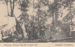 Goteborg. Barnens Dag Den 14 Sept 1907, Sweden , Lapplagret, Lorenzberg - Schweden
