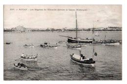 (17) 180, Royan, Collection Vidor Billaud 203, Les Régates De L'escadre Devant Le Casino Municipal - Royan