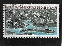 TIMBRE OBLITERE DE COTE D'VOIRE DE 1971 N°MICHEL 386 - Costa D'Avorio (1960-...)