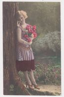 BELLE WOMEN VINTAGE TINTED NOYER  PHOTOCARD - Mujeres