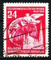 DDR 1952 Nr 320YI Zentrisch Gestempelt X5EF7EE - [6] República Democrática