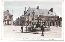 Cpa Henrichemont - Rue Dauphine . - Henrichemont