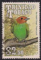 Trinidad & Tobago 1990 QE2 $2.50 Birds Bay Headed Tanager Used SG 843 ( L1112 ) - Trinité & Tobago (...-1961)