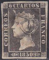 1850. º Edifil: 1A. ISABEL II. - 1850-68 Königreich: Isabella II.
