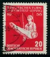 DDR 1956 Nr 533YII Gestempelt X8BEBF6 - [6] República Democrática