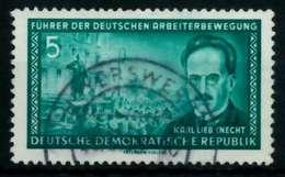 DDR 1955 Nr 472XII Gestempelt X8C1EA6 - [6] República Democrática