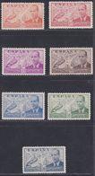 1939.  * Edifil: 880/86. LA CIERVA - 1931-Heute: 2. Rep. - ... Juan Carlos I