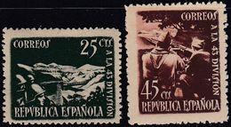 1939.  * Edifil: 787/78. HOMENAJE A LA 43º DIVISION - 1931-Heute: 2. Rep. - ... Juan Carlos I