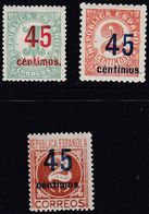 1939.  * Edifil: 742/44. CIFRAS - 1931-Heute: 2. Rep. - ... Juan Carlos I