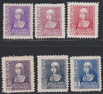 1939.  * Edifil: 855/60. ISABEL CATOLICA - 1931-Heute: 2. Rep. - ... Juan Carlos I