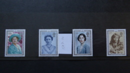 GREAT BRITAIN SG 1507-10 90TH BIRTHADAY QUEEN MOTHER - Autres