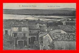 CPA (34) BALARUC-le-VIEUX.  Les Baris Et L'étang, Animé...L408 - Other Municipalities