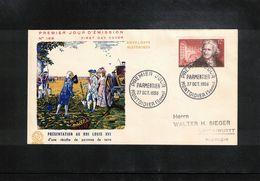 France / Frankreich 1956 Antoine Parmentier FDC - FDC