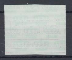Luxemburg ATM Kleines POSTES Mi.-Nr. 2 Schwachdruck-/Teildruck-ATM ** - Vignettes D'affranchissement