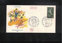 France / Frankreich 1970 World Handball Championship FDC - Handball
