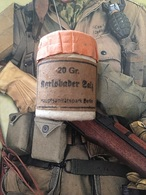 Pot Médical Allemand Plein Ww2 Militaria Original - 1939-45