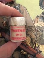 Pot Médical Allemand Plein Ww2 Original Militaria - 1939-45